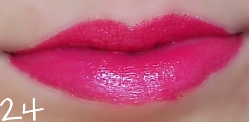 swatch perfect pink cien rossetto