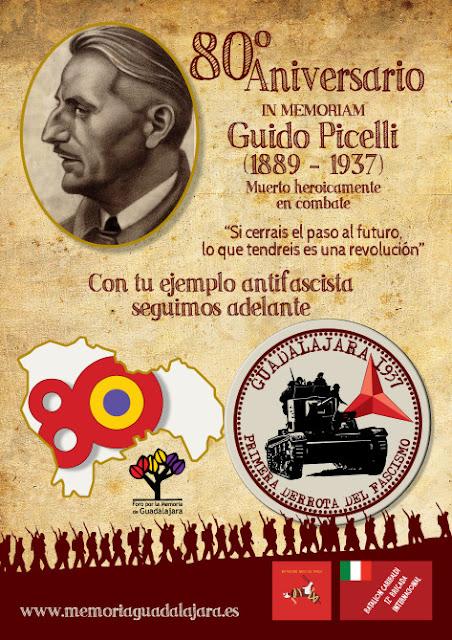 80 Aniversario de la muerte de Guido Picelli