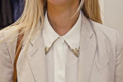 Como hacer unos Picos Dorados para Blusas o Camisas