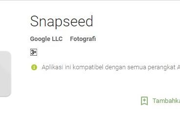 Google Snapseed Aplikasi Edit Foto Terbaik Dari Google