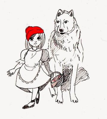 Эвелина Васильева. Волк и Красная Шапочка