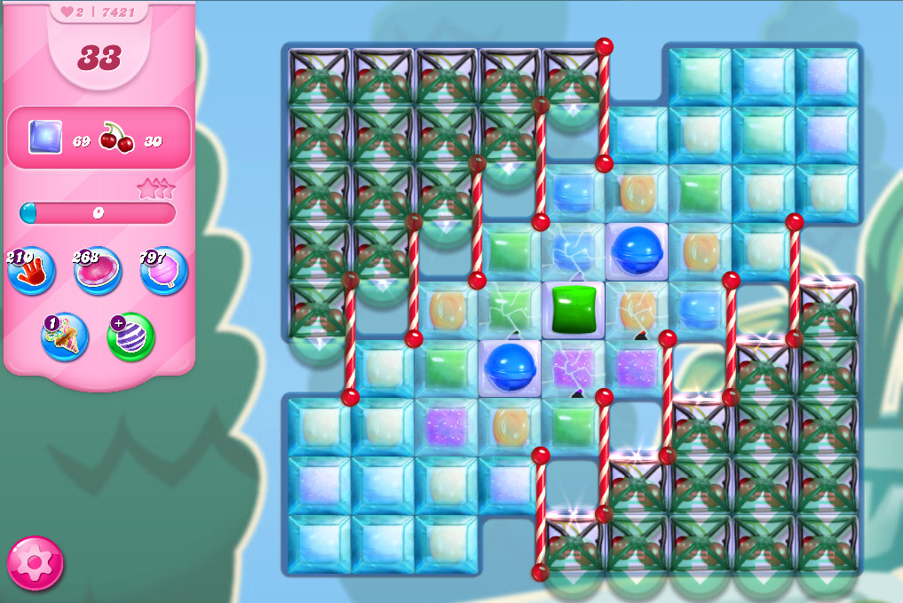 Candy Crush Saga level 7421