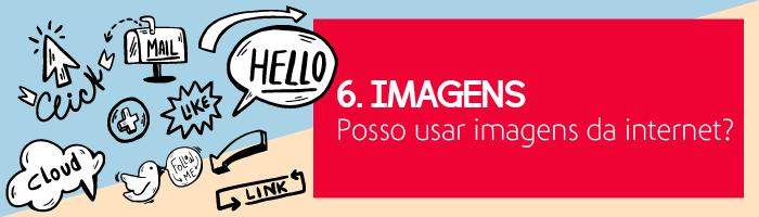 Imagens - posso usar imagens da internet?
