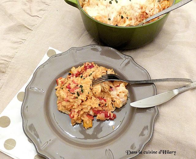 One-pot-rice à l'Italienne