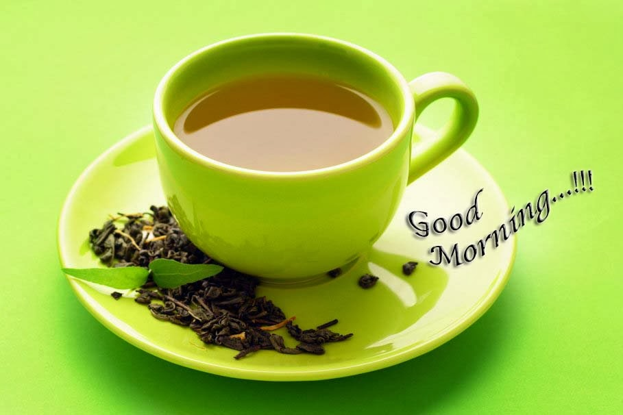 Good_morning_green-tea_wallpapers