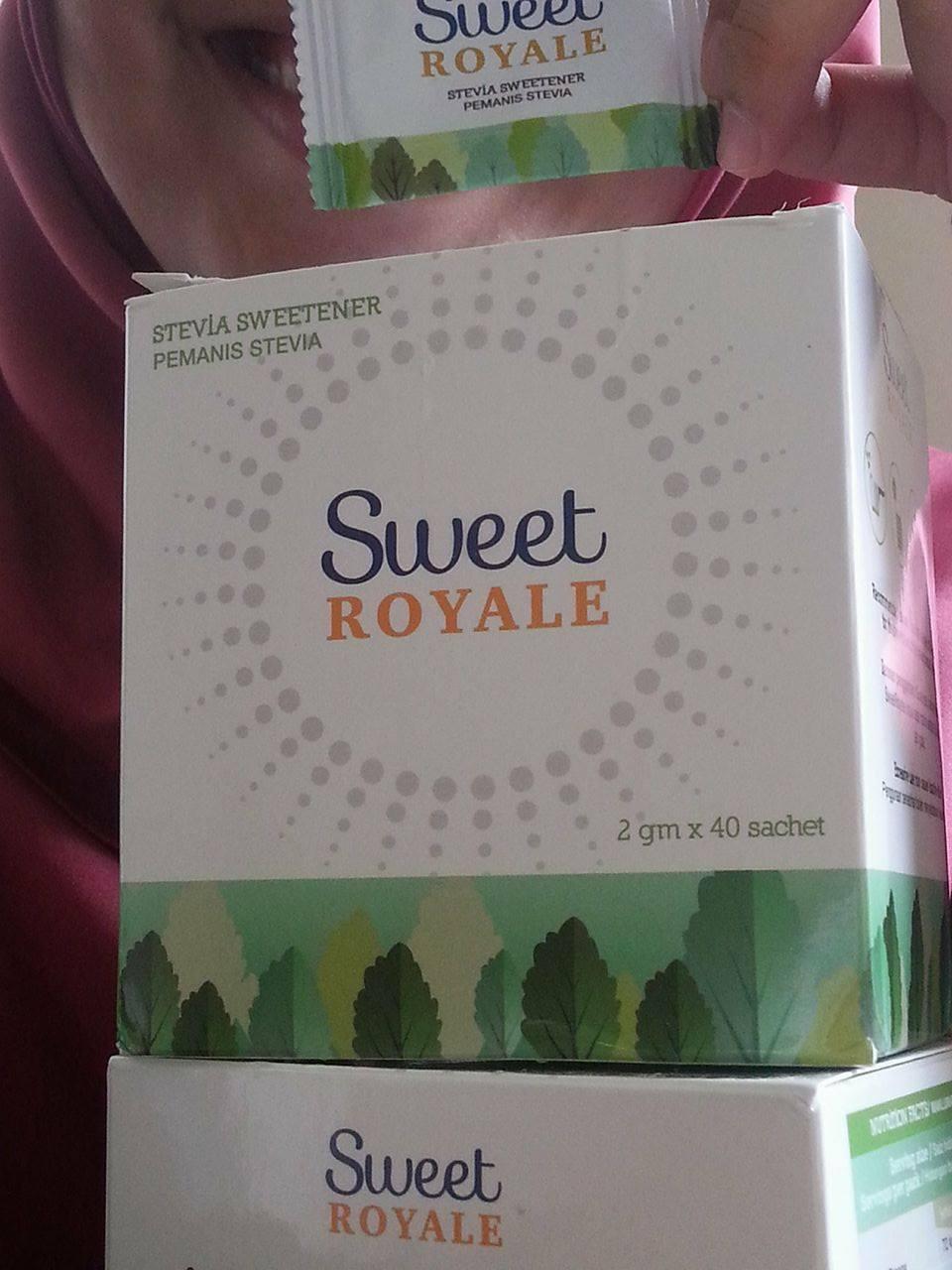 best lah SweetRoyale Stevia Halal ni!