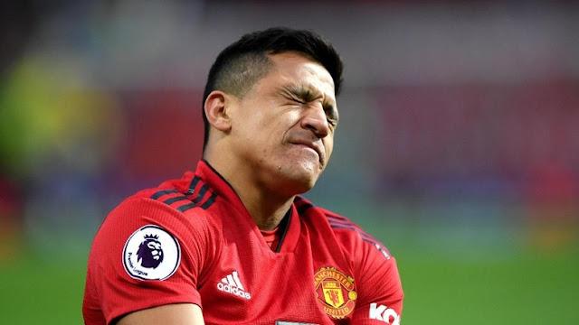 Cedera Ligamen Lutut, Alexis Sanchez Diperkirakan Absen Dua Bulan