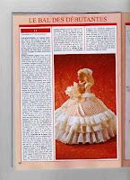 Barbie Com Vestido de Crochê Para Baile de Debutante - Com Gráfico