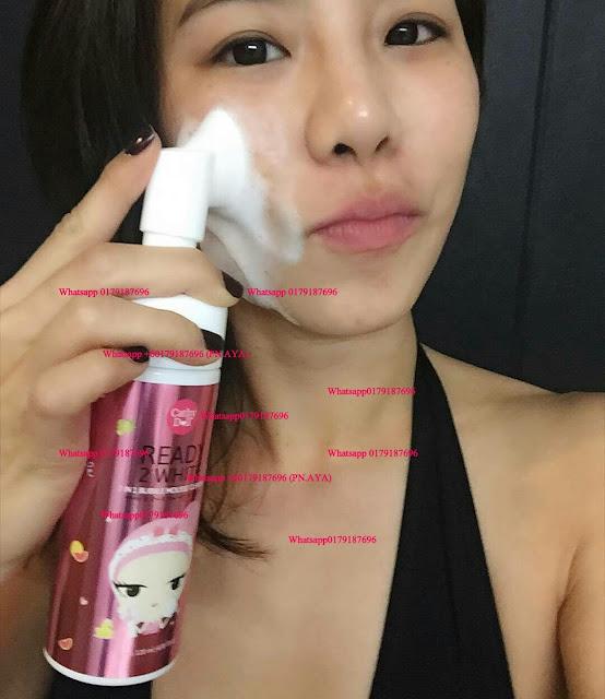 Cathy Doll Ready 2 White: 2 IN 1 Bubble Mousse Cleanser with brush (120ml)   Fungsi: .  - diperbaharui dengan kebaikan Glutathione & Arbutin yang mempercepatkan lagi proses pemulihan dan pemutihan kulit wajah !  - khasiat Vitamin E & Collagen membantu membersihkan kulit wajah dengan lebih efektif !  - pencuci muka dalam bentuk mousse  - buih-buihnya bertindak sebagai agen pembersih secara menyeluruh & mendalam untuk kulit yang lebih cerah berseri  - diperkaya dengan protein susu yang melembap dan menganjalkan kulit  - mampu menanggalkan kekotoran & blackhead pada wajah dengan lembut & berkesan  - mengecilkan liang roma dan mengurangkan masalah kulit kering dan berminyak  - whitening  - brightening  - moisturising  - pore tightening   Harga: RM 35 S/M..RM40 S/S..FREE POSTAGE WHATSAPP 0179187696 . . #cathydoll #cathydollmurah #cathydollpromo #cathydollsale #cathydolloriginal #cathydollproduct #cathydollhappysale #sayajual #sayajualcathydoll #karmartmalaysia #karmartsproduct #cathydollmalaysia #bazarpaknil #swapreview #exchangereview #cathydollready2white #ready2white #ready2whitebubblemoussecleanser #readytwowhite .