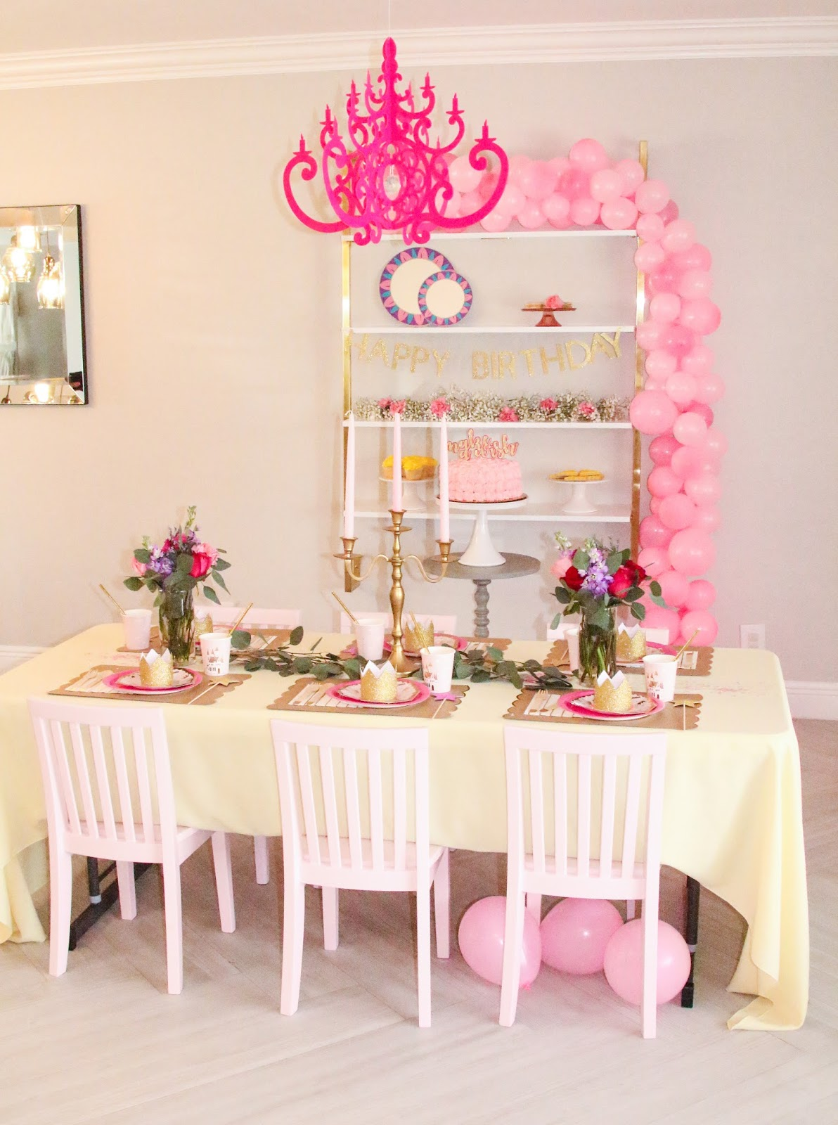 Beauty and the Beast Garden Party by popular party planning blogger Celebration Stylist
