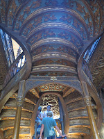 Oporto escalera Librería Lello