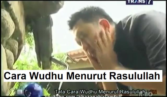 Tata Cara Wudhu