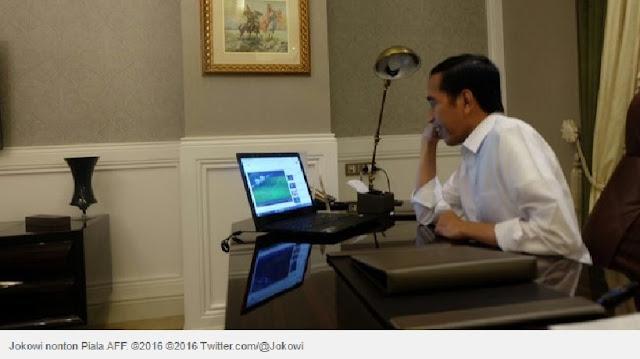Dari Iran, ini reaksi Jokowi sambut kemenangan 2-1 Indonesia
