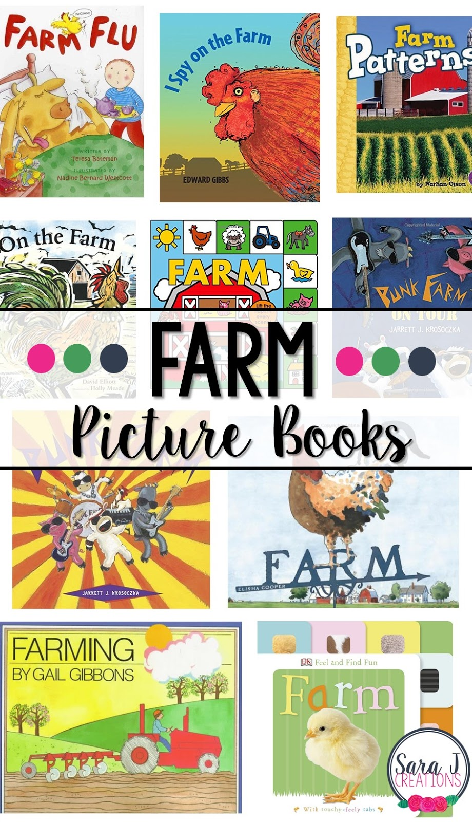 10 of our favorite farm books from our farm unit