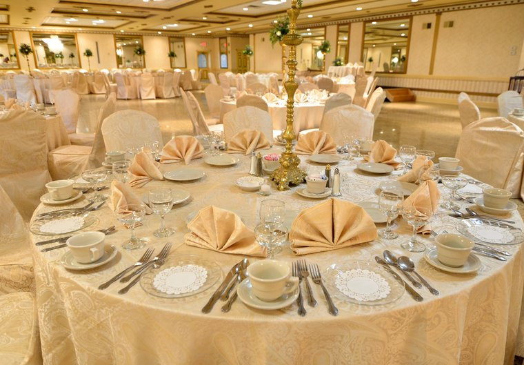 The Gold Ballroom Can Seat Up To 340 Guests
