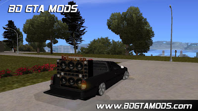 Download , Mod , Carro , VW SAVEIRO G3 C/MINI PAREDAO BULL3D para GTA San Andreas, Jogo , GTA SA