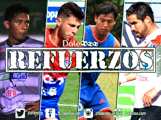 Oriente Petrolero - Paul Burton - Oscar Ribera - Diego Suárez - Ignacio García - DaleOoo.com web Club Oriente Petrolero