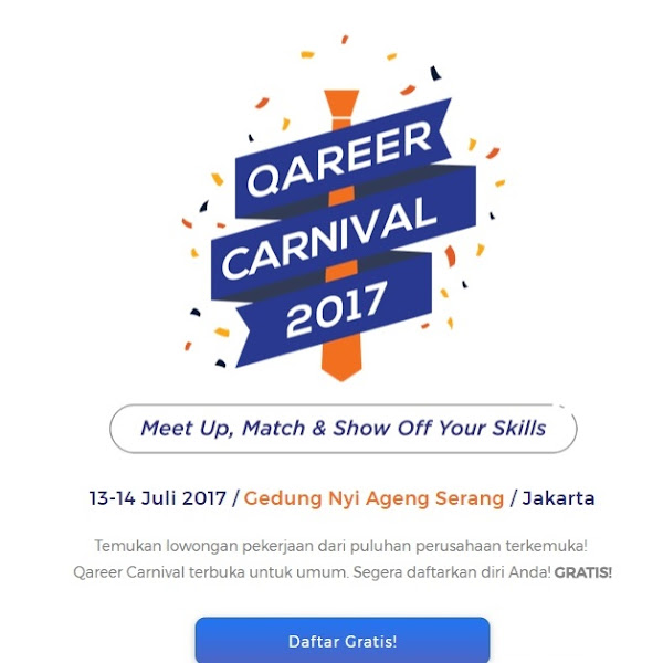 Match Your Skill and Career at Qareer Carnival 2017