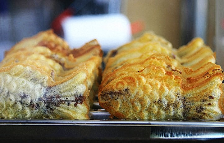 Fish Shaped Bread With Red Bean Filling Recipe