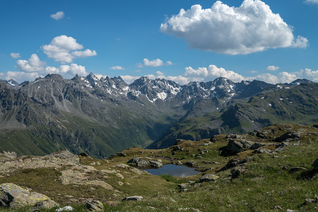 Gipfelweg Madrisella  Wandern Silvretta-Montafon  Vorarlberg 10
