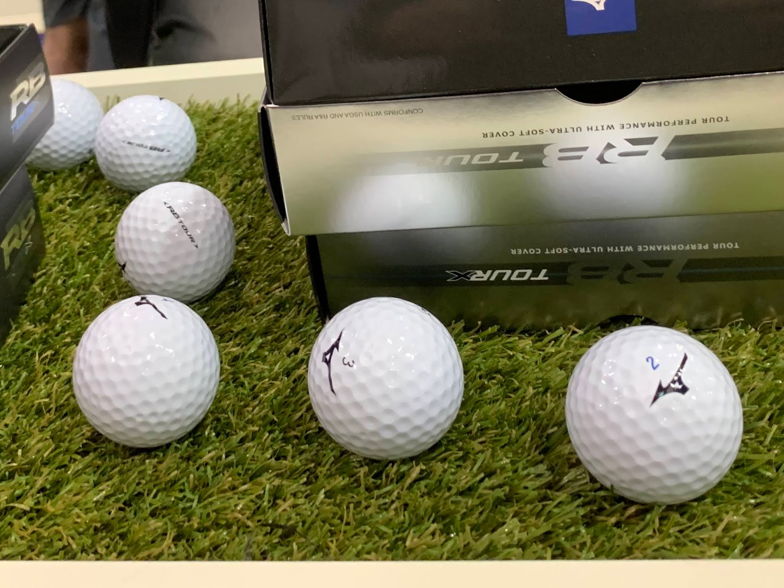 a3ab41d5ce91 A quick look at the new RB golf balls and you'll see the C-Dimple design  features different edge angles, shapes and diameters, and even total  coverage ...