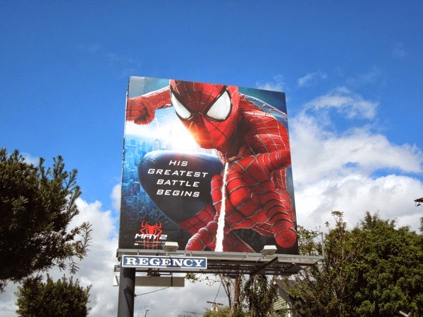 Amazing Spider-man 2 web shooter  billboard