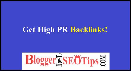 PR Quality, High Quality Backlinks
