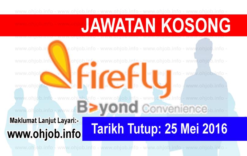 Jawatan Kerja Kosong FireFly logo www.ohjob.info mei 2016