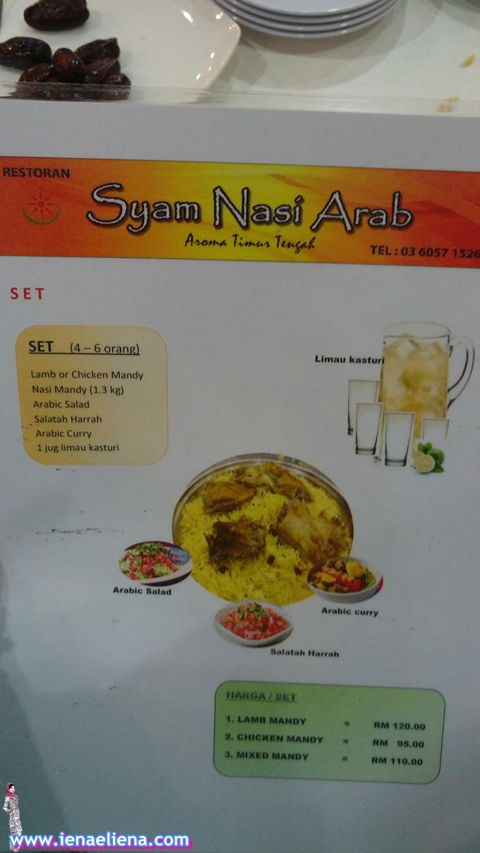 Syam Nasi Arab Batang Kali