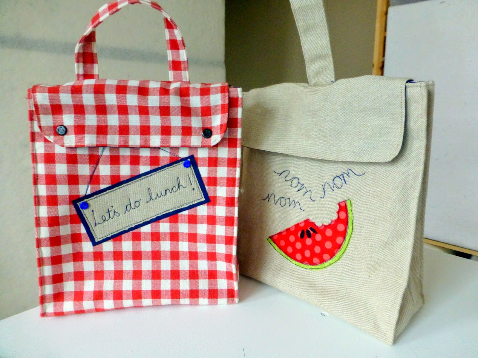 Lunch Bags Just Jude Designs Quilting Patchwork
