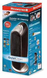 Honeywell HFD-120-Q Tower Quiet Air Purifier with Permanent IFD Filter, picture, image, review features and specifications