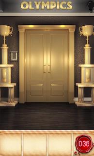 Имеется надпись крупными буквами наверху дверей. Нам следует её написать