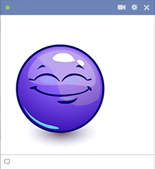 Big Grin Facebook Emoji