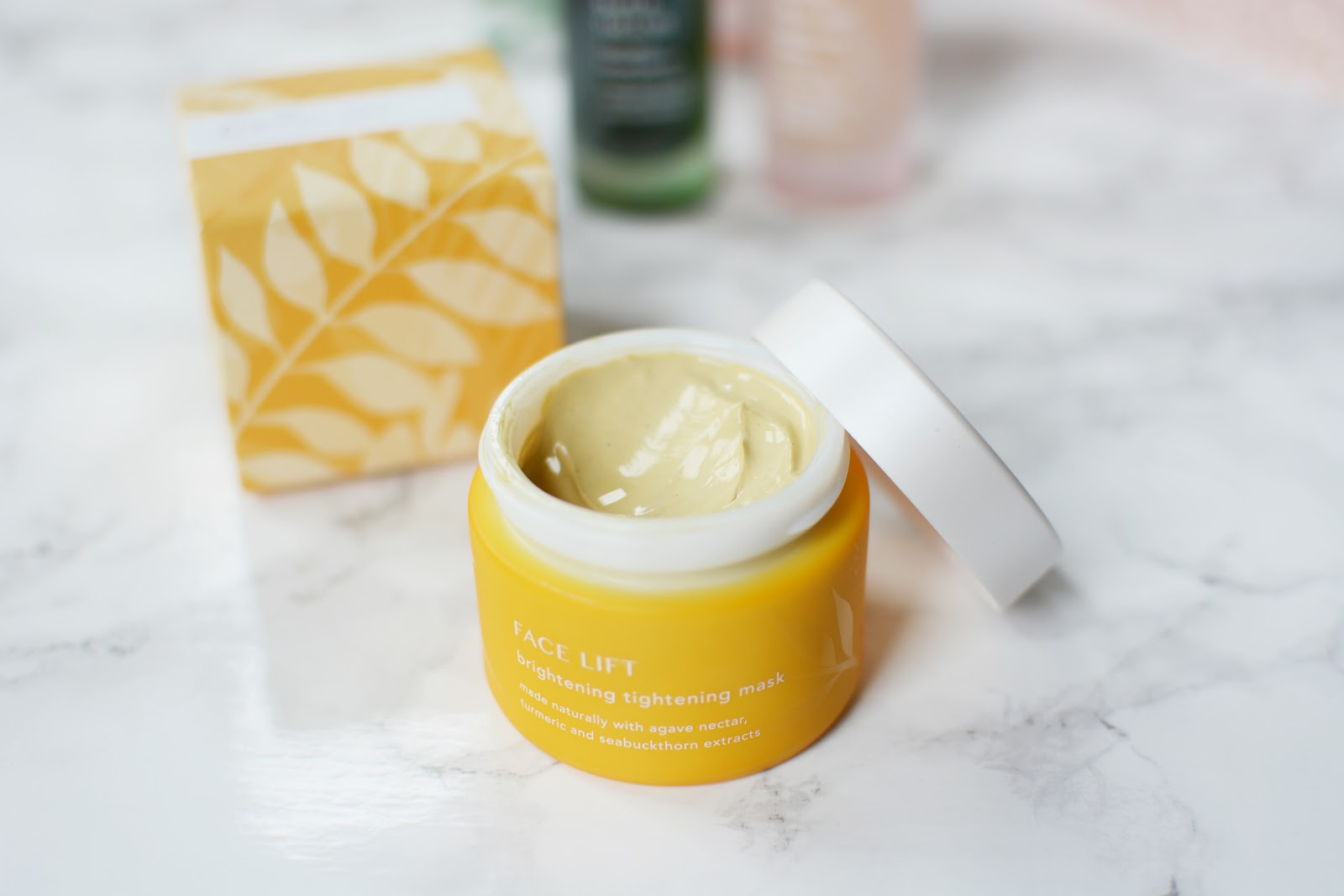 Tropic Skincare Face Lift Brightening Tightening Mask