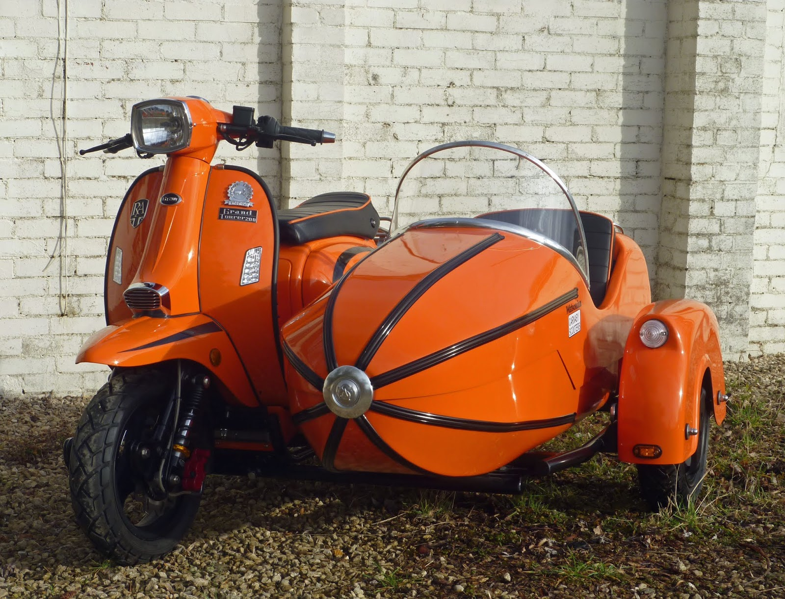 Watsonian's Royal scooter sidecar