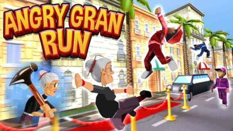 Angry Gran Run hack