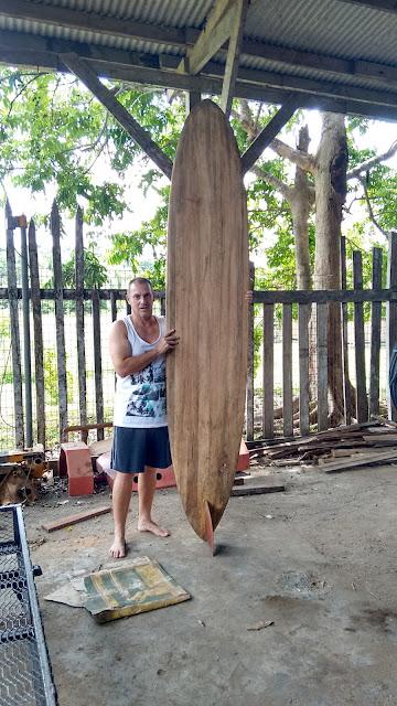 Torsten Kofler woodbuddha tupira wooden surfboards