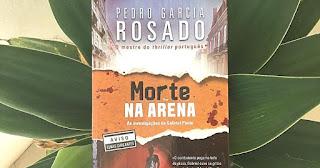Morte na Arena, de Pedro Garcia Rosado | Resenha Literária