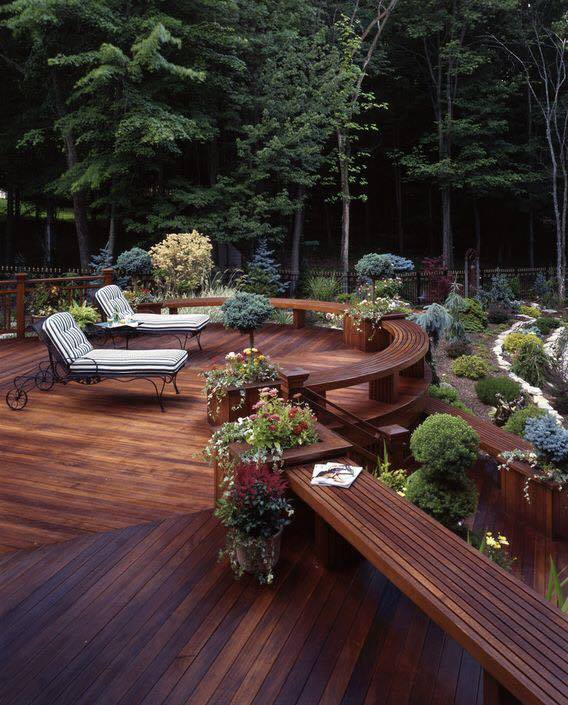 Gorgeous Outdoor Mesmerizing Sitting Areas That Will Leave You Speechless