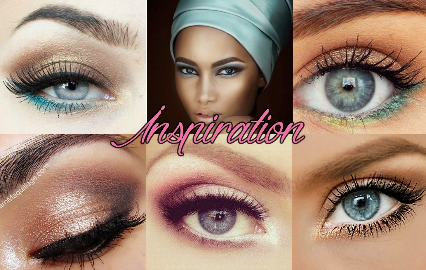 Turquoise & Bronze eyes makeup inspiration