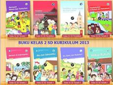 Download Buku Kurtilas Revisi 2017 untuk Kelas 2 SD/MI