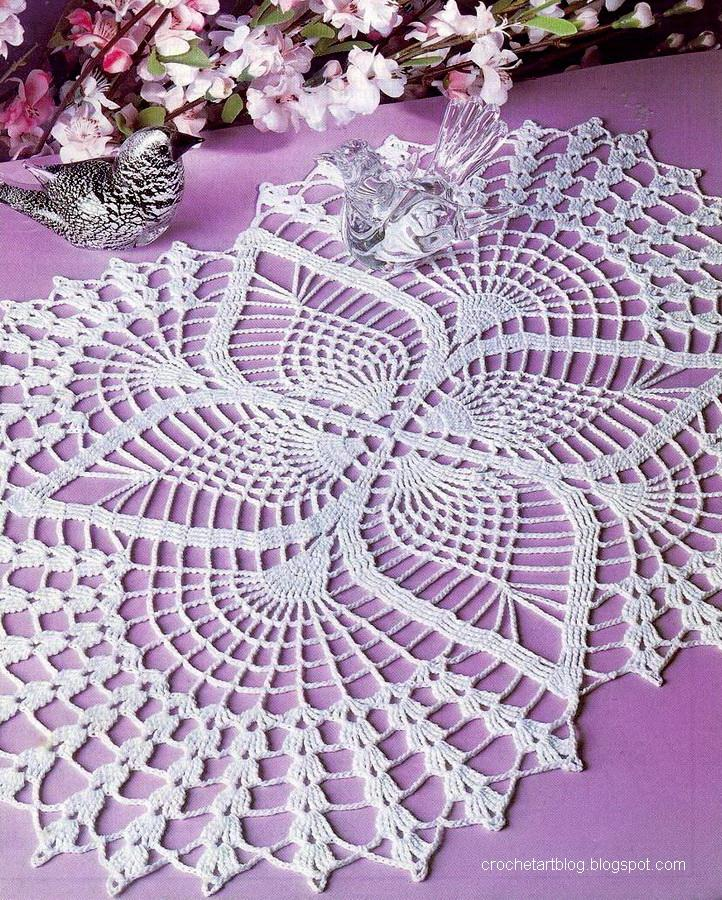Free Download Of Crochet Patterns : Katrinshine: Free crochet doily patterns