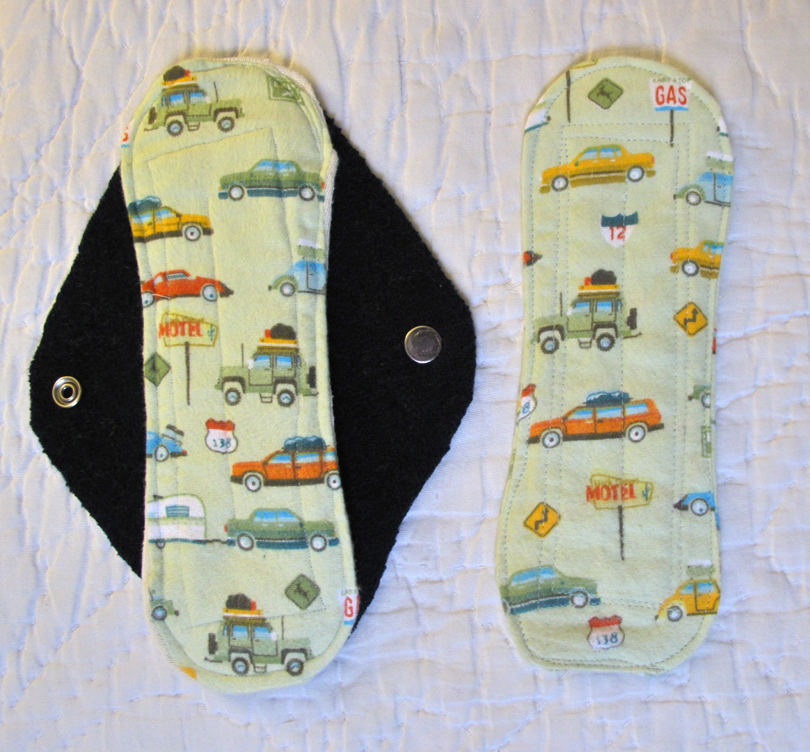 Diy Cloth Pads Tutorial: Resweater: It's Tutorial Tuesday! Make Your Own Cloth Pads