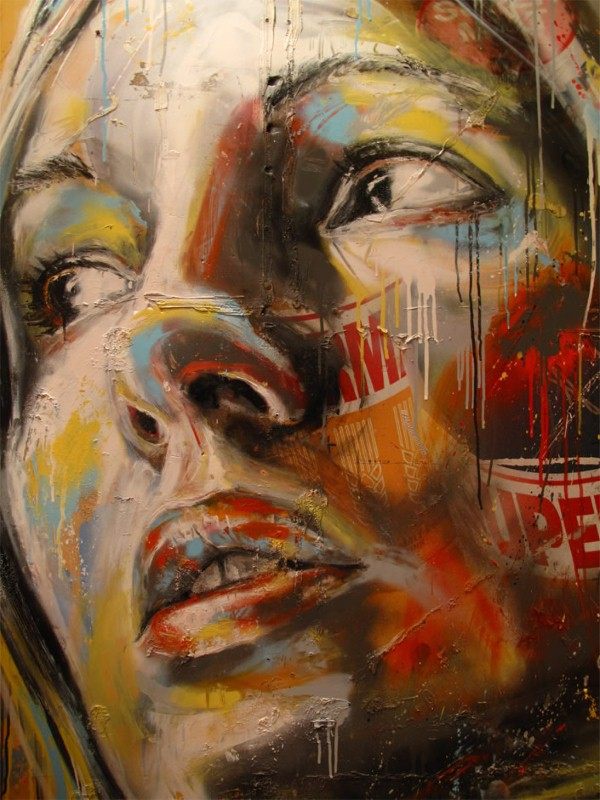 Уличный художник Дэвид Уокер (David Walker) 11