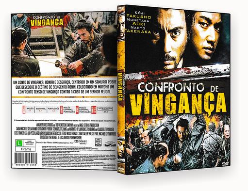 CAPA DVD – Confronto De Vingança – ISO