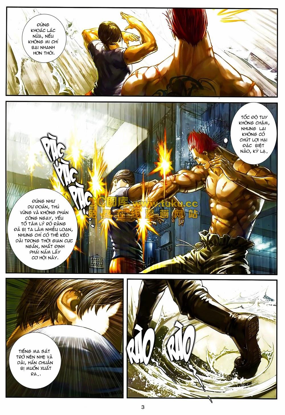 Quyền Đạo chapter 6 trang 3