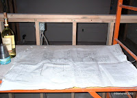 Blueprints for Noord Restaurant, East Passyunk Avenue, Phila PA - Photo by Glamorosi