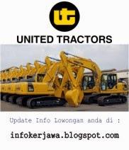 Lowongan Kerja PT United Tractor Tbk