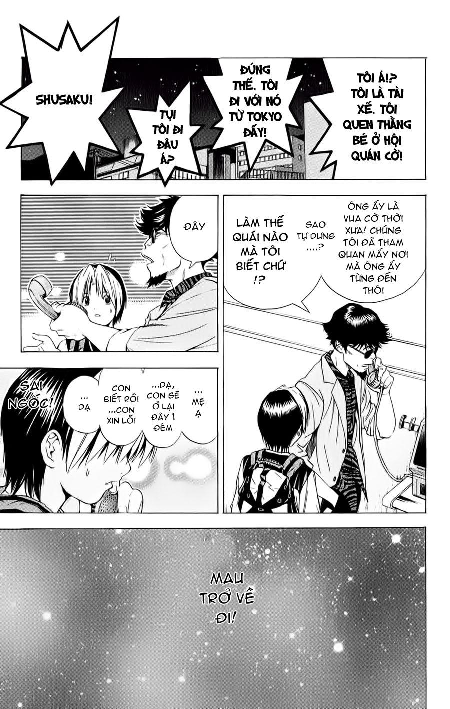 Hikaru No Go hikaru no go chap 126 trang 18