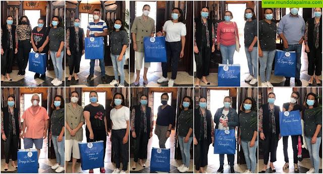 Los Llanos de Aridane agradece a las asociaciones de vecinos la colaboración en el reparto de mascarillas cedidas por el Ayuntamiento